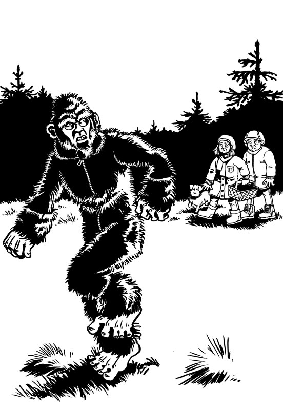 "Bild ""Bigfoot"""