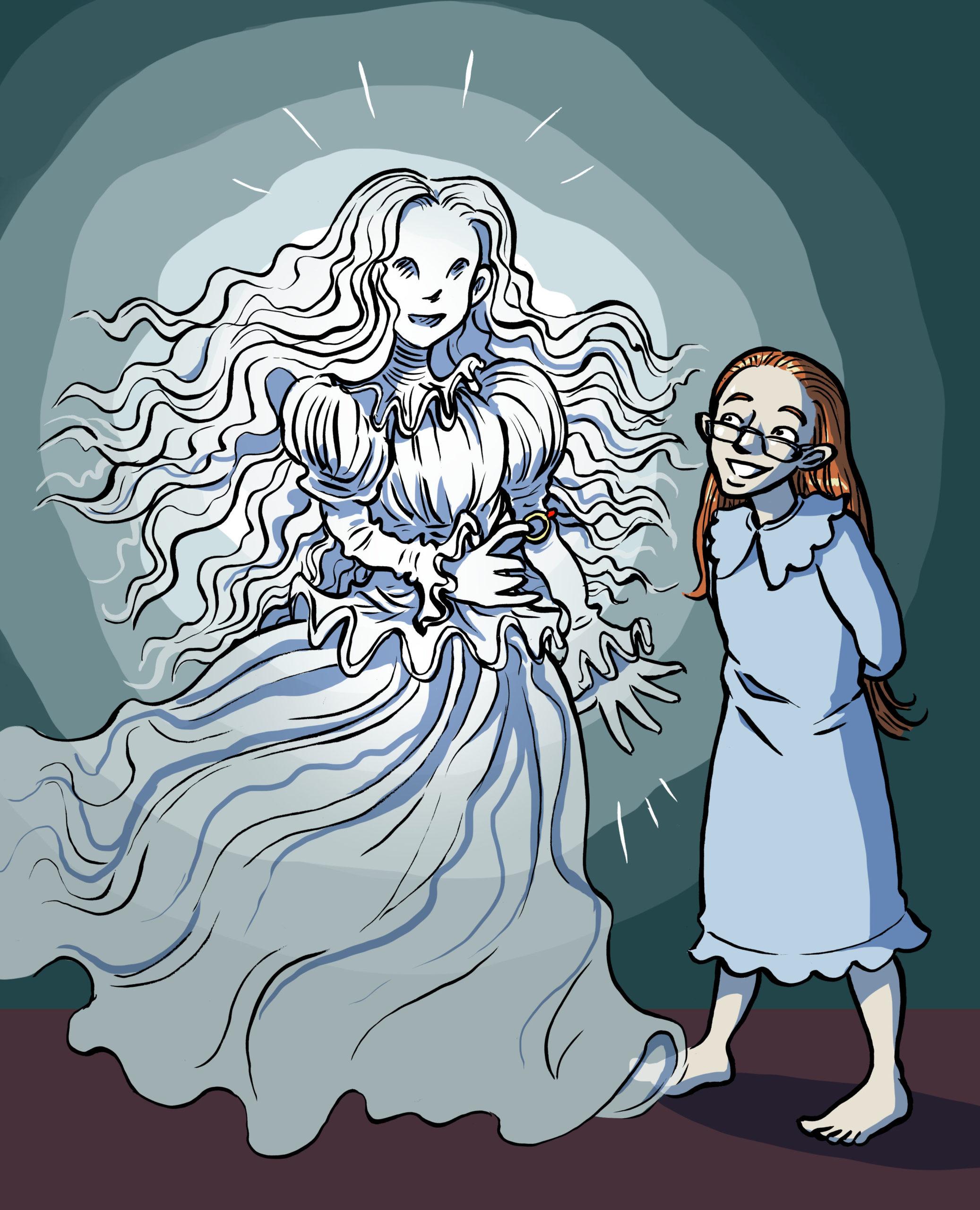 Läshoppet - Sally Smart hittar ett spöke